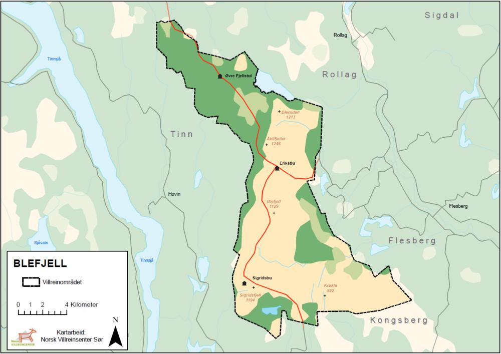 Blefjell kart.PNG