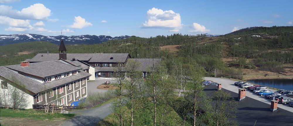 Skinnarbu Nasjonalparkhotell. Foto: A. Nyaas