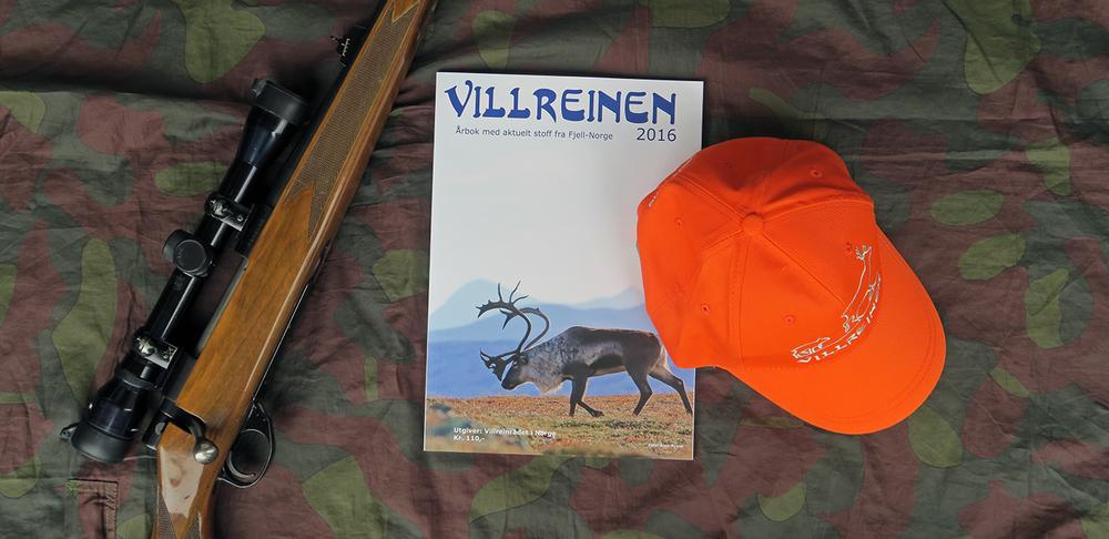 "Aurland fjellstyre ber samtlige villreinjegere benytte capsen som de får utdelt sammen med jaktkortet. I tillegg får samtlige villreinjegere årboka ""Villreinen"". Foto: A. Nyaas"
