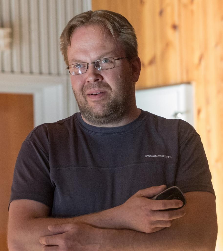 Svein Erik Lund. Foto: Kjell Bitustøyl