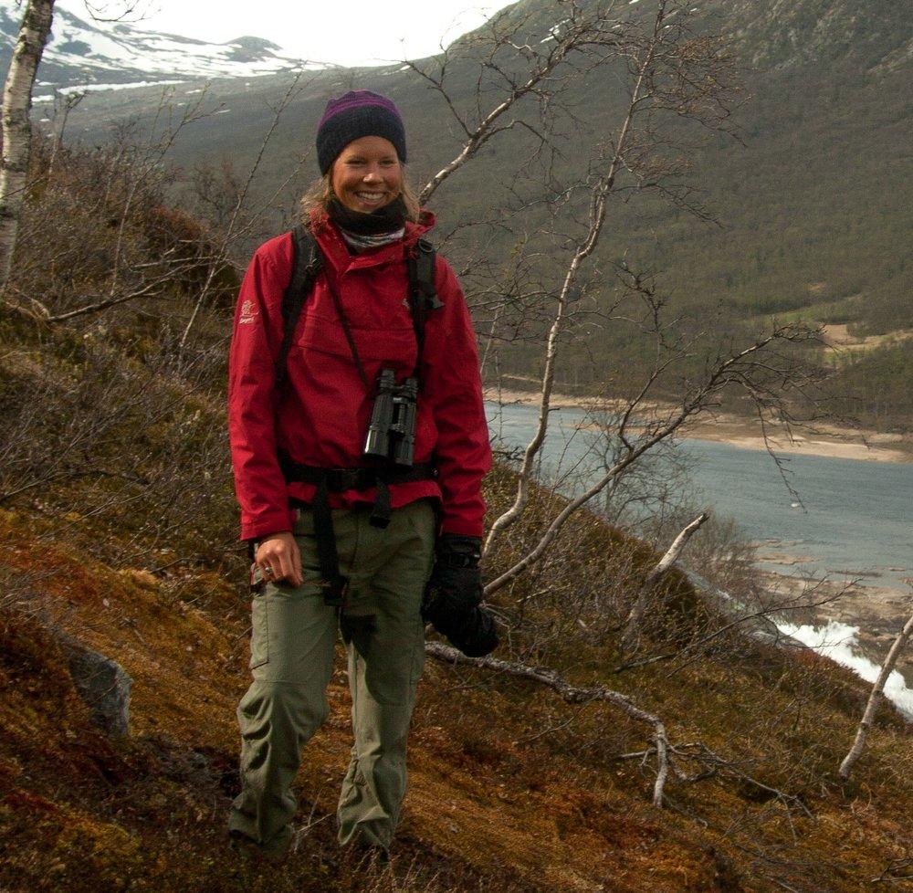 Hovudlærar Ane Guro Moen. Foto: Kjell Bitustøyl