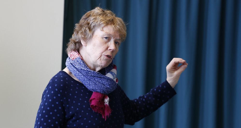 Ellen Korvald er prosjektansvarlig fra Buskerud fylkeskommune. Hun er en av de som kommer på de åpne møtene. Foto: Anders Mossing
