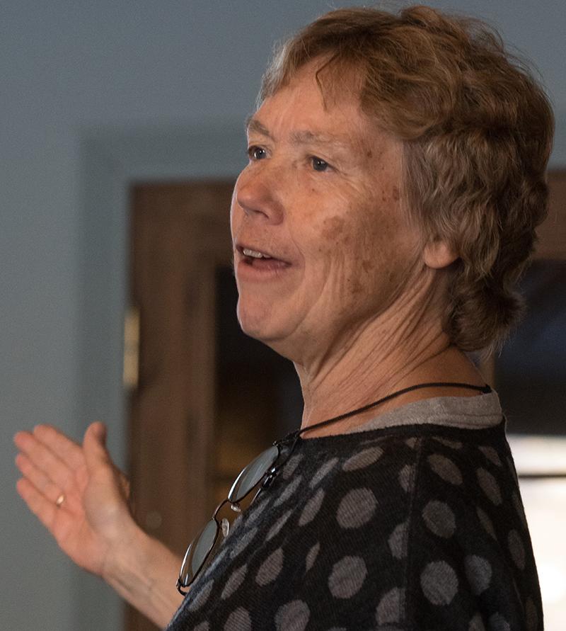 Ellen Korvald. Foto: Kjell Bitustøyl