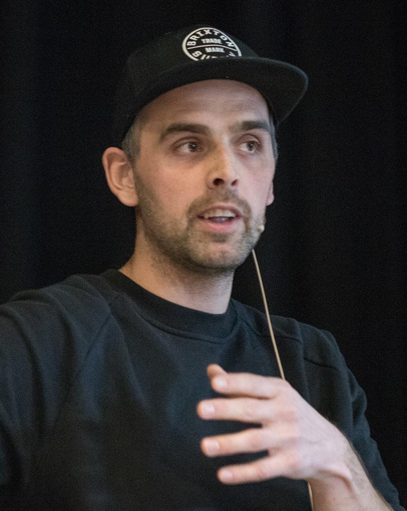 Bjørn Kaupang. Foto: Kjell Bitustøyl