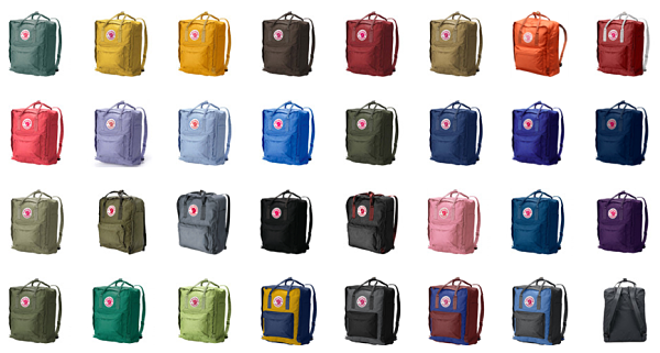 kanken backpack sizes comparison