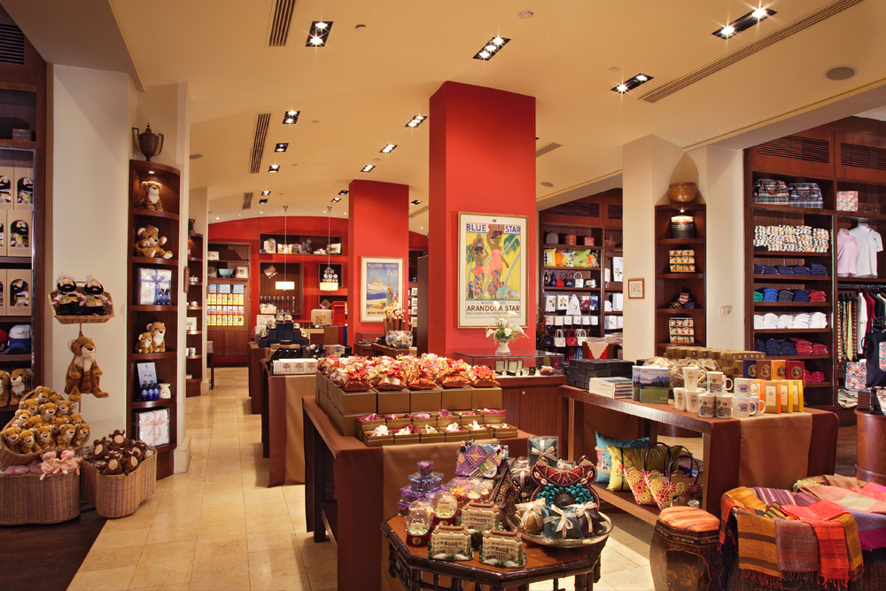 Find an array of collectables and keepsakes, ranging from home fragrances, exotic teas, and designer items from Barbara Rihl.
