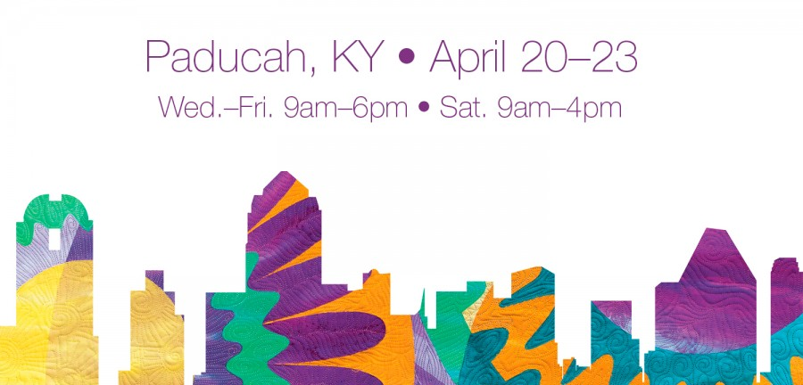 Excited to be first time vendors at AQS' Paducah Quilt Week - Booth 4621 in the Pavilion