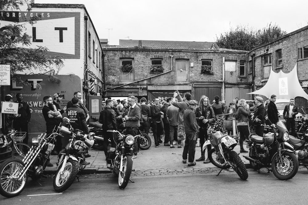 bolt garage classic motorcycles