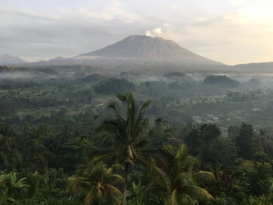 Volcano from Sideman Royal Residence