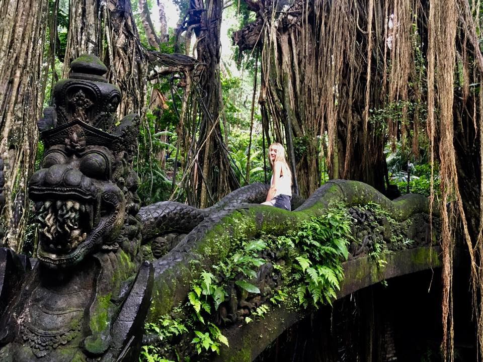 Lost in time in Ubud