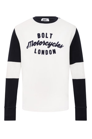 846a8a6f Bolt Flat Tracker Shirt Vintage White and Navy ...