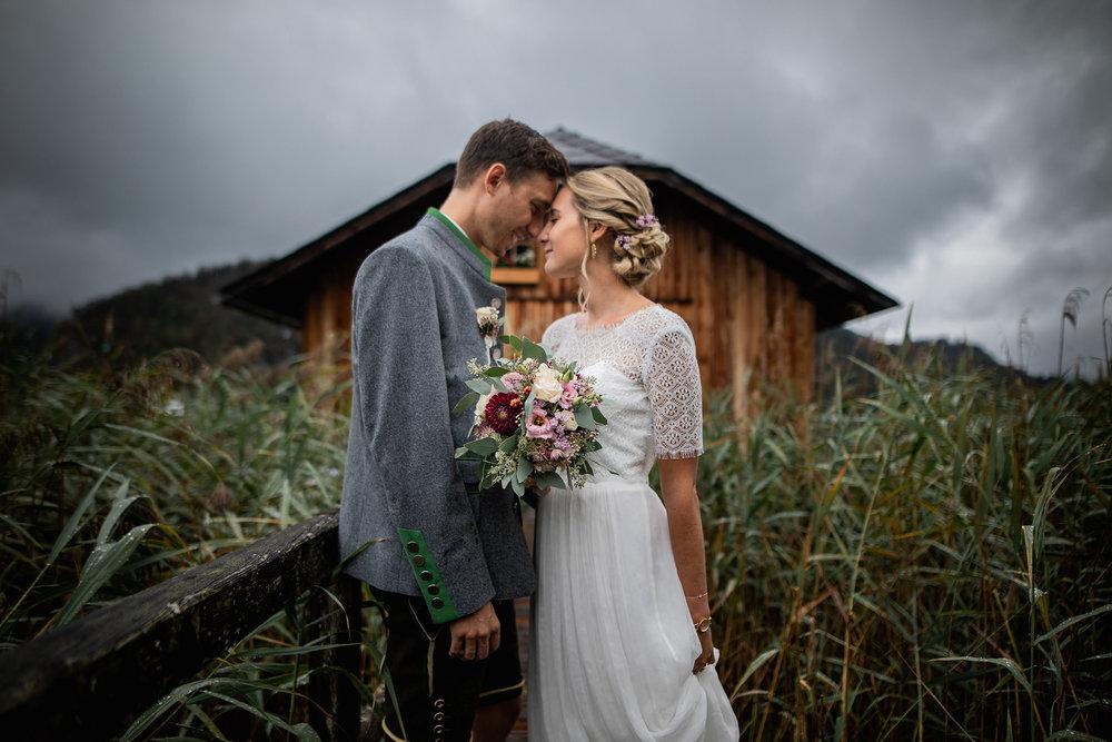 Paar Wolfgangsee Strobl Regen Küssen