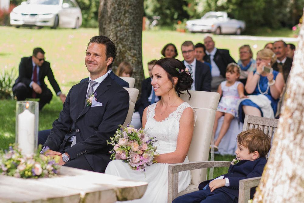 Brautpaar Attersee Nussdorf Grafengut Zeremonie