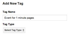 nuevo evento en google tag manager