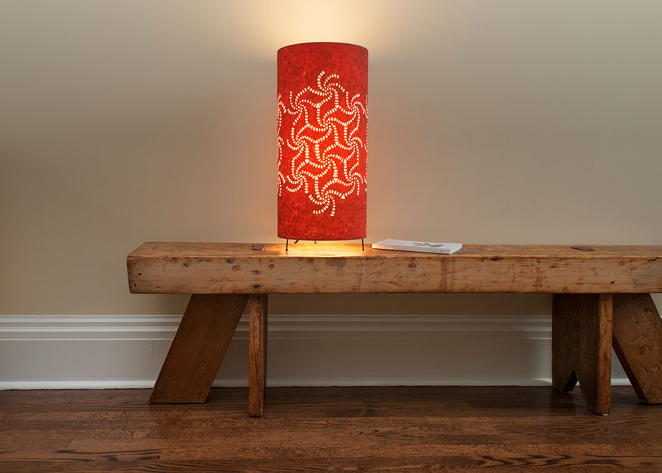 Lampe de table Rouge