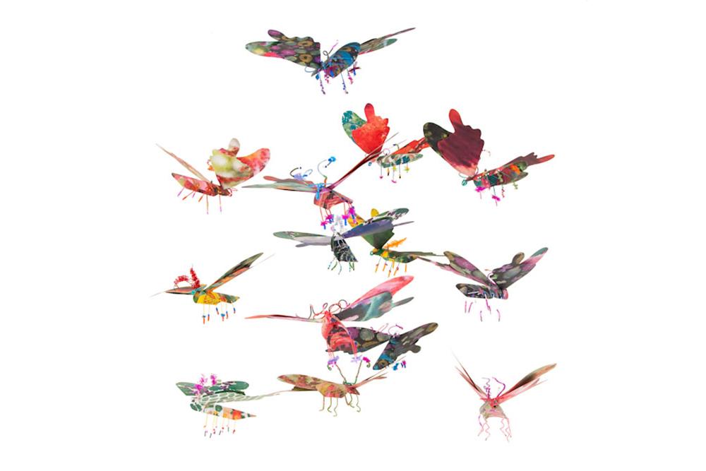 Flying Flowers Mobile