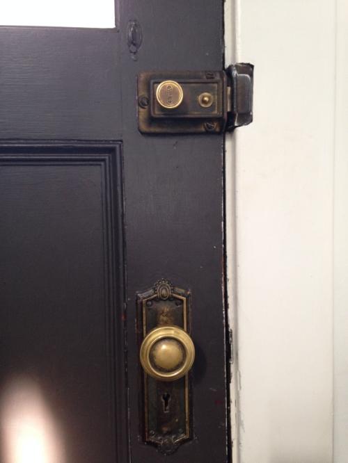 -front door