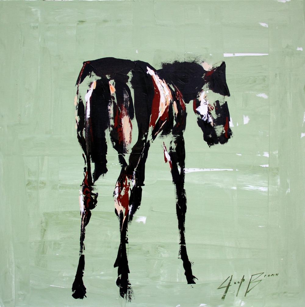 Green Horse_36x36_auction.jpg