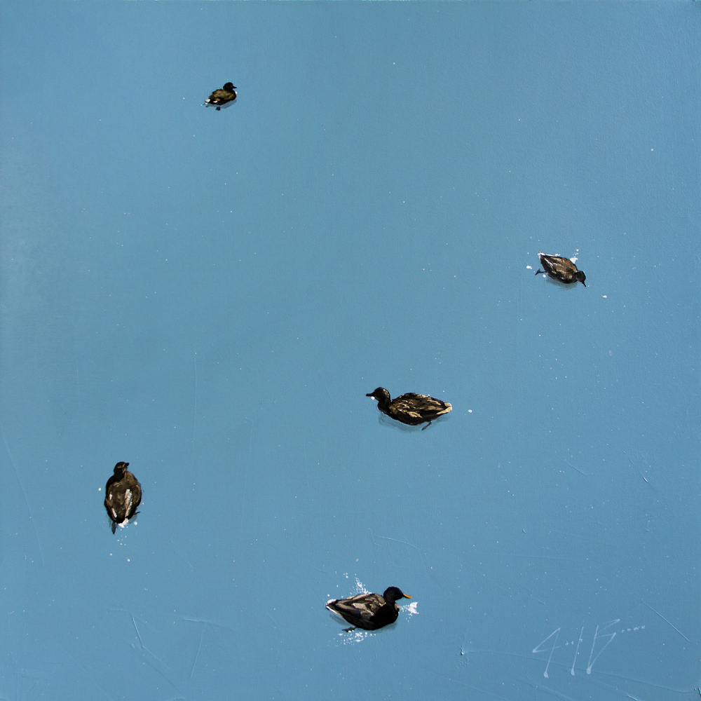 JoshBrown_DucksInAPond2_36x36_Oil_1800.jpg