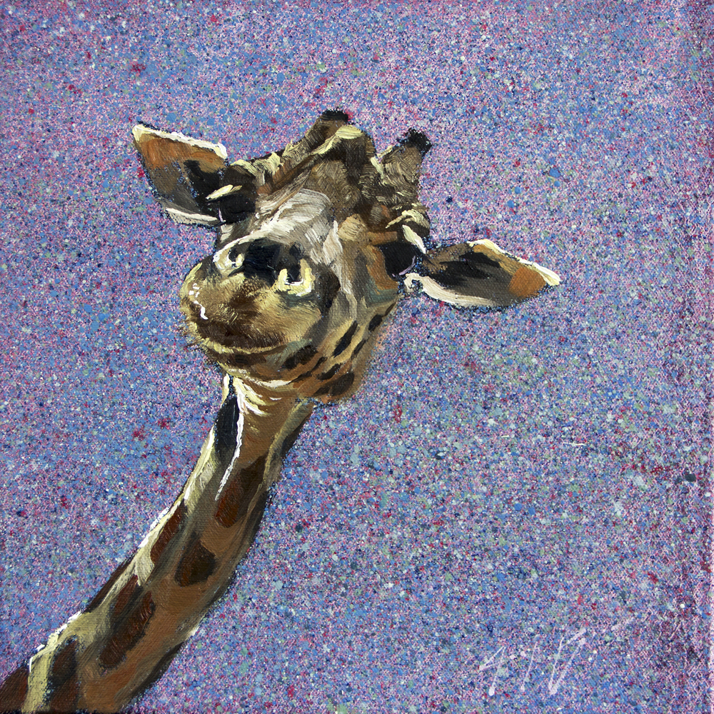 JoshBrown_GiraffeOnSpeckles_12x12_oil_550.jpg