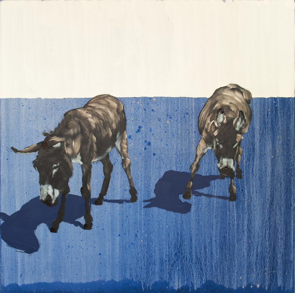 Blue Field, 50x50, $3500
