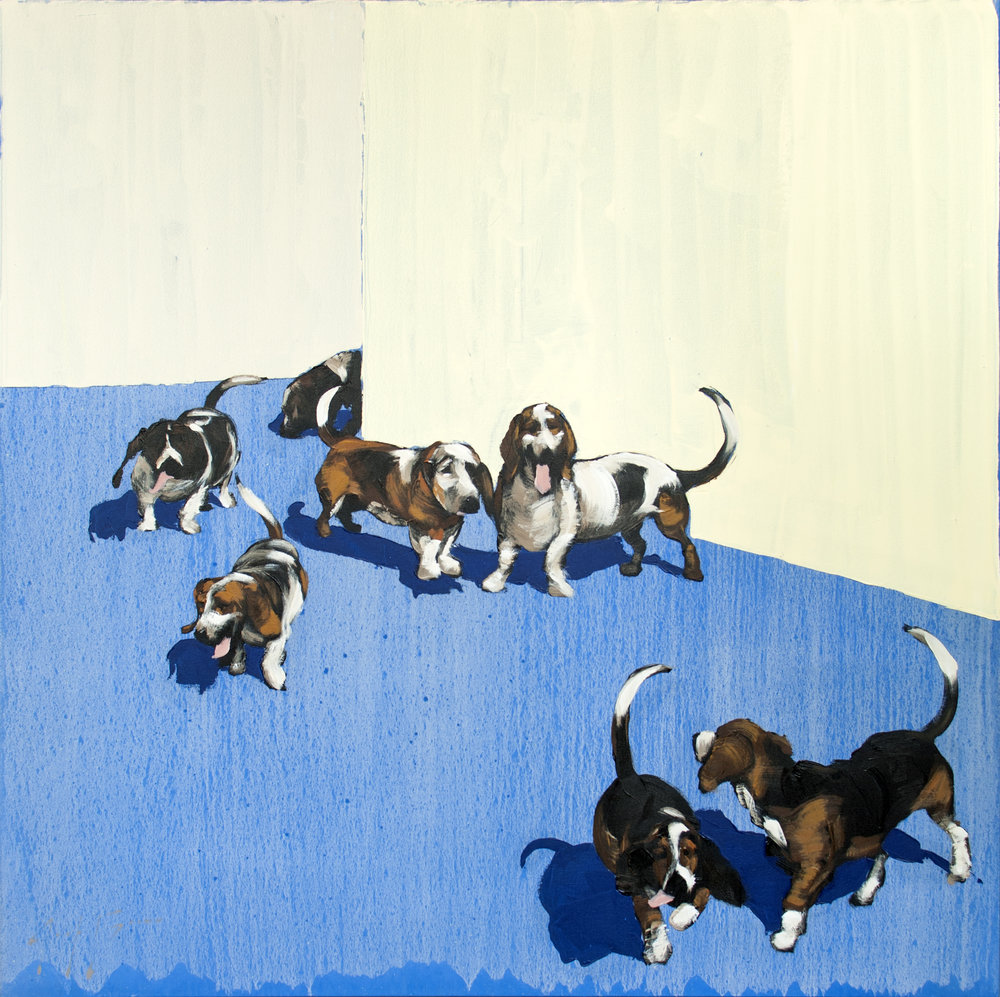 Follow the Leader, 50x50, $3500