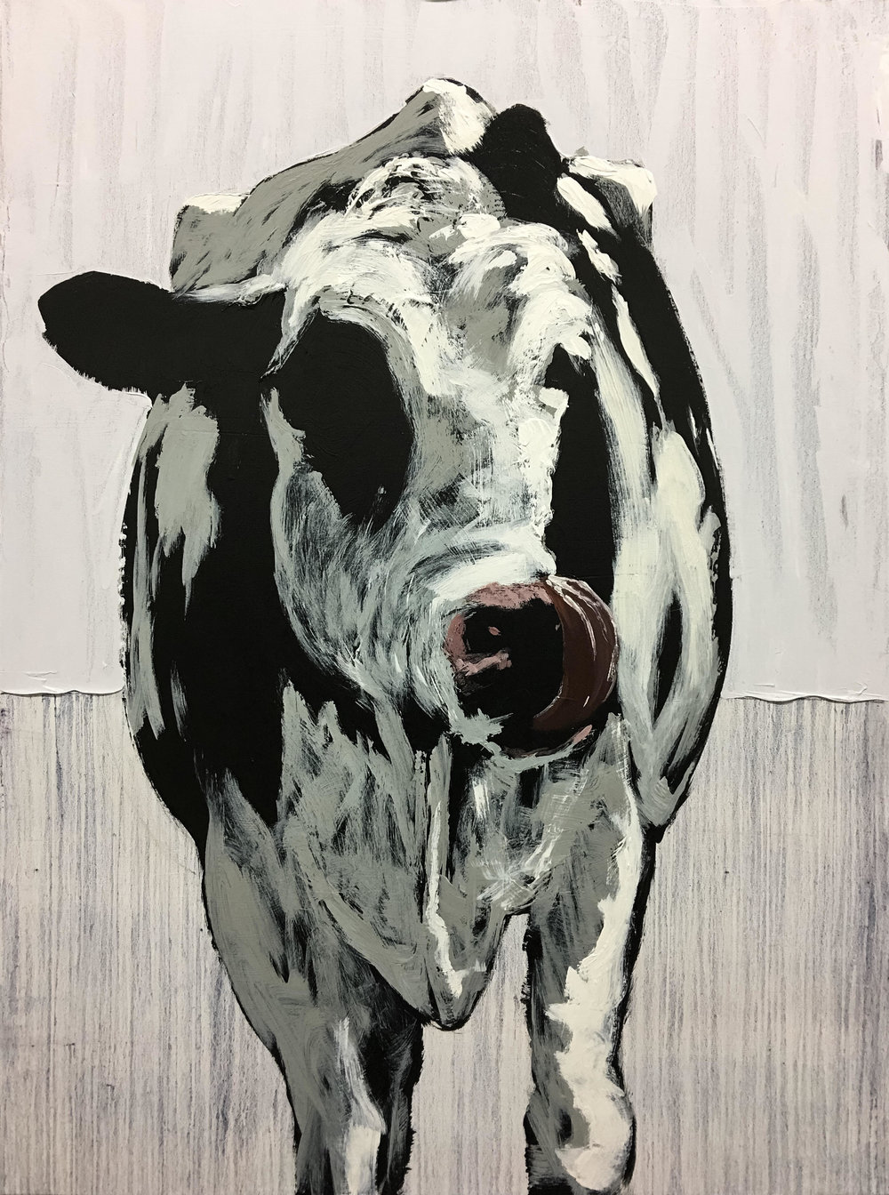 Cow Tongue, 48x36, $3200