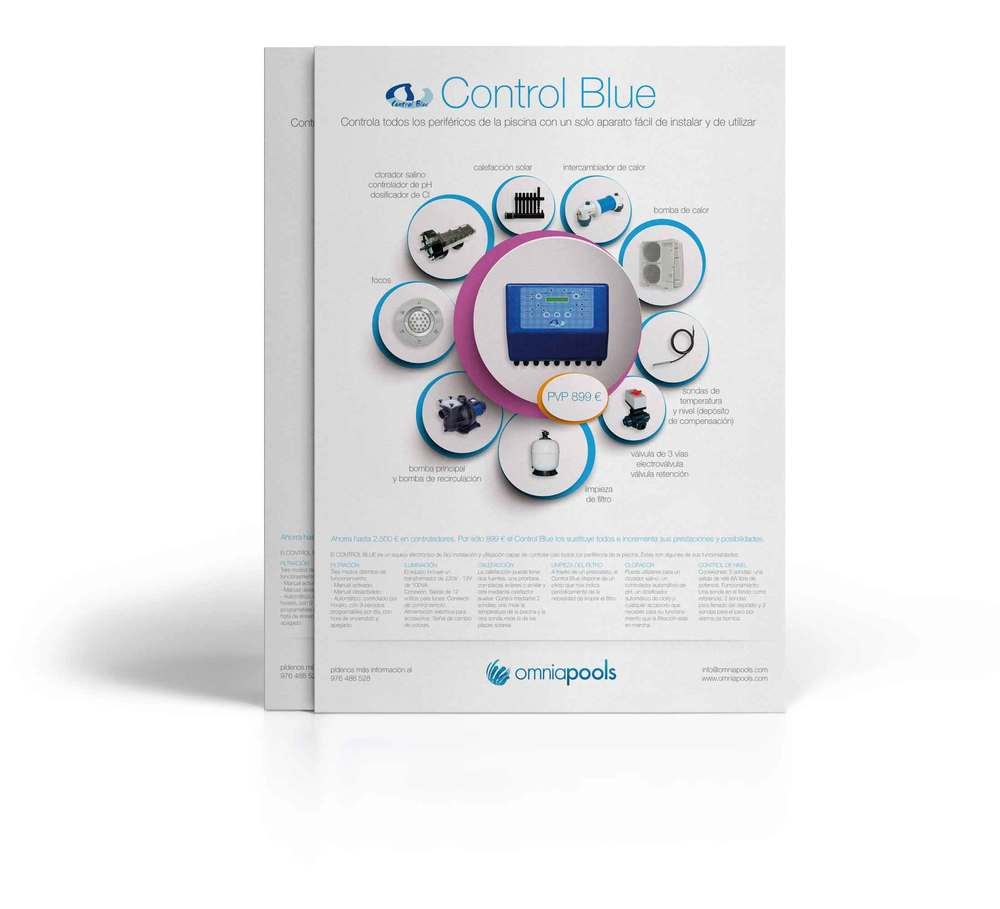Control Blue - Controlador Global de la Piscina
