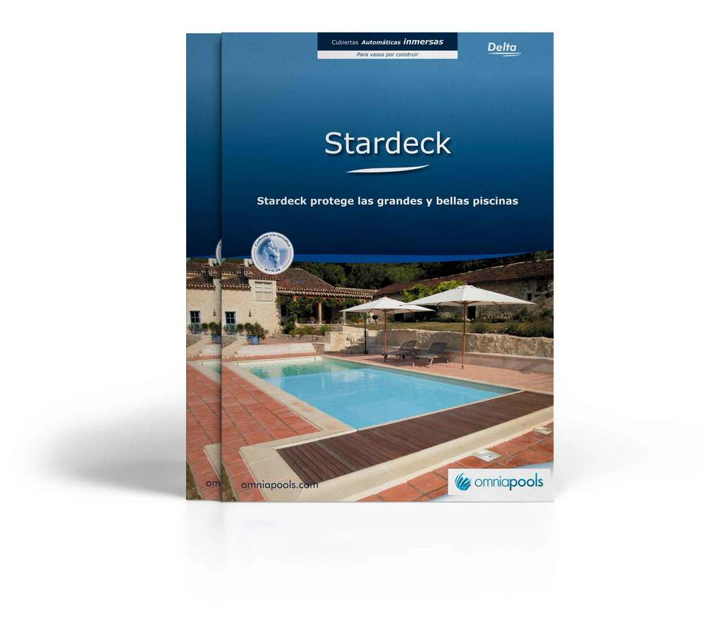 Cubiertas Automáticas Sumergidas - Stardeck  Para Piscinas Por Construir
