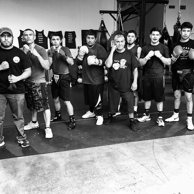 Always great sparring at @rumbleatx Boxing! Big thanks to Coach Earnest and Owner Fredricka for the hospitality. #bondsbornofsweat