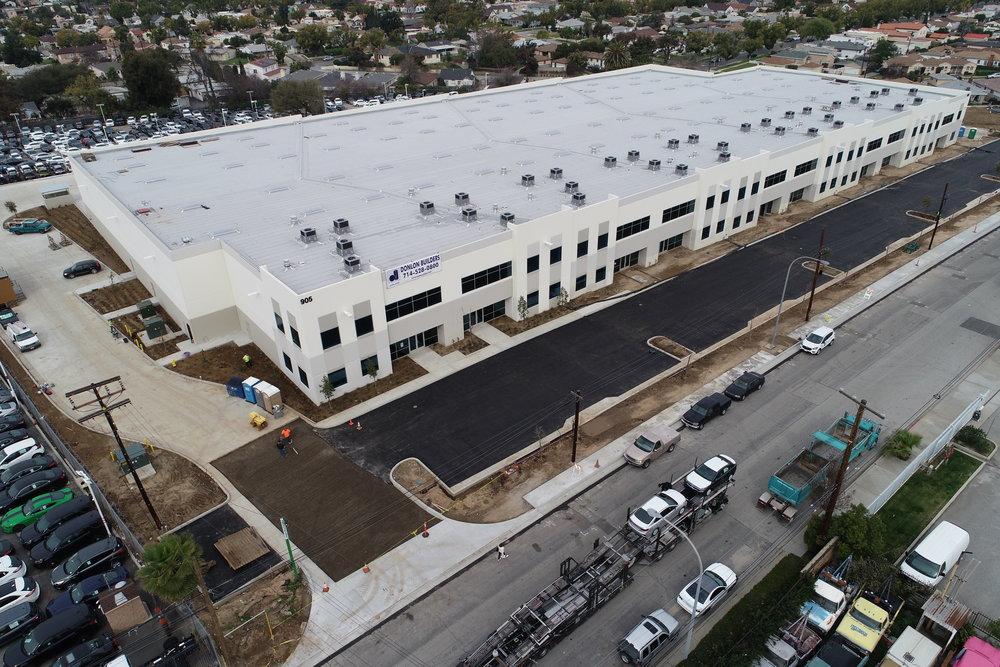 Industrial: New Construction 9 unit multi-tenant Building