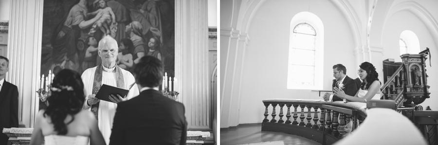 Bröllopsfotograg Kyrka