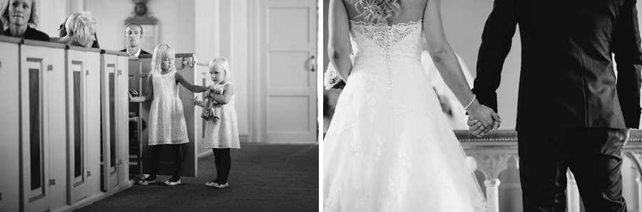 Bröllopsfotograf Skepparslöv kyrka
