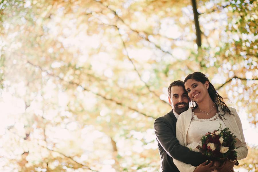 Bröllop skogen