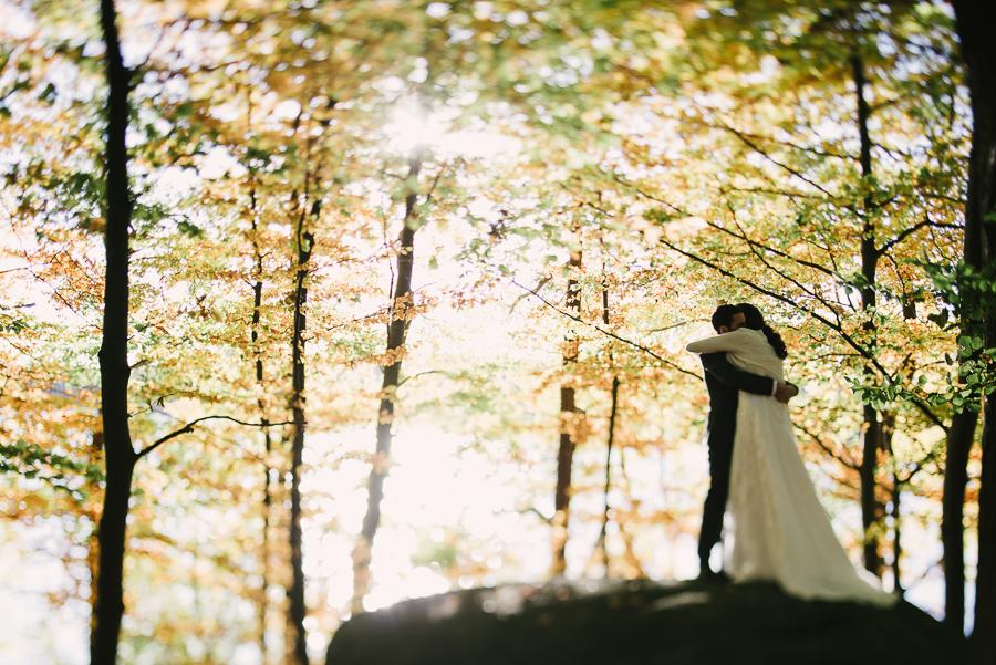 Höstfärger bröllop