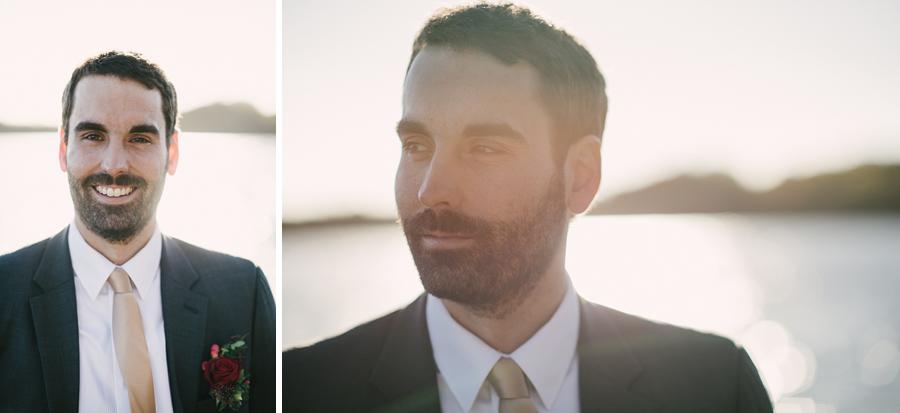 Bröllops porträtt