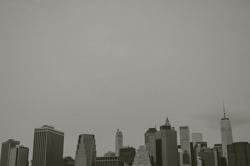 Manhattan från Brooklyn