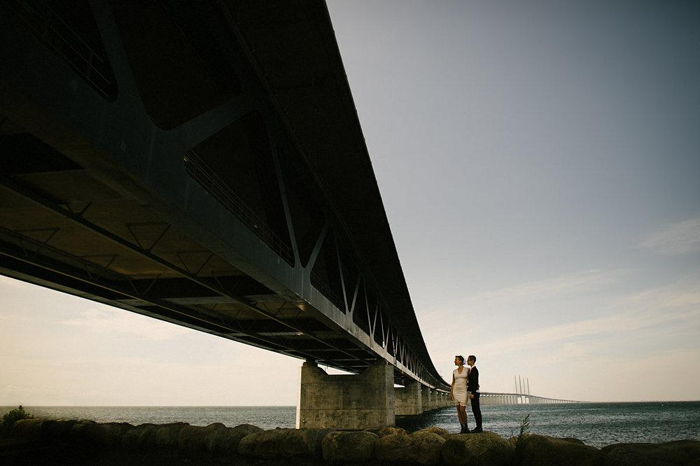 Bröllop Öresundsbron