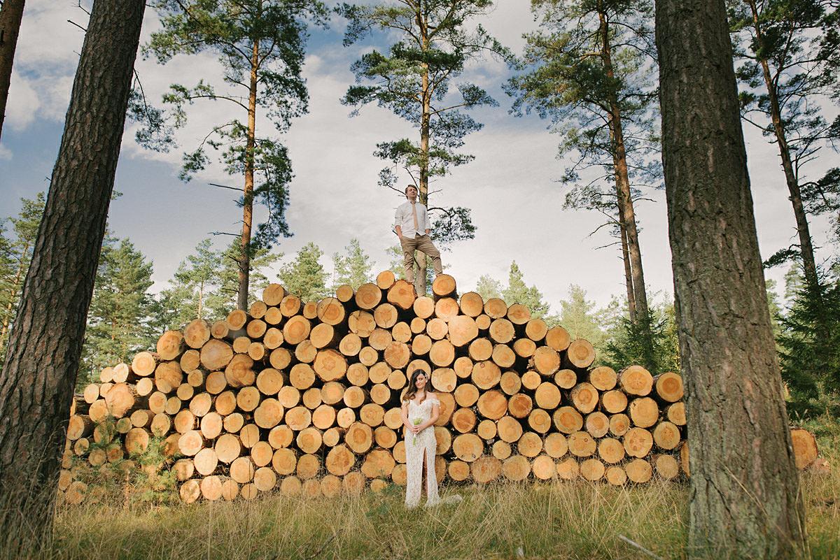 Bröllopsporträtt Åhus