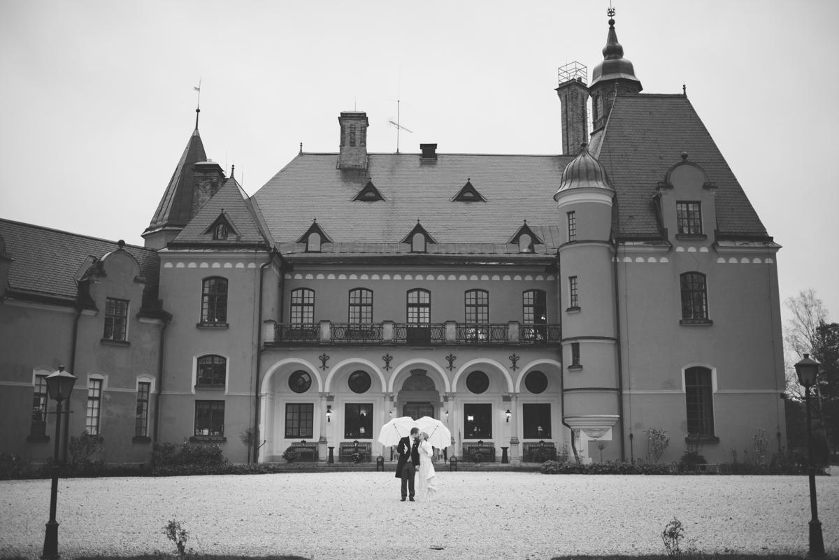 Lejondals slott i Novemeber