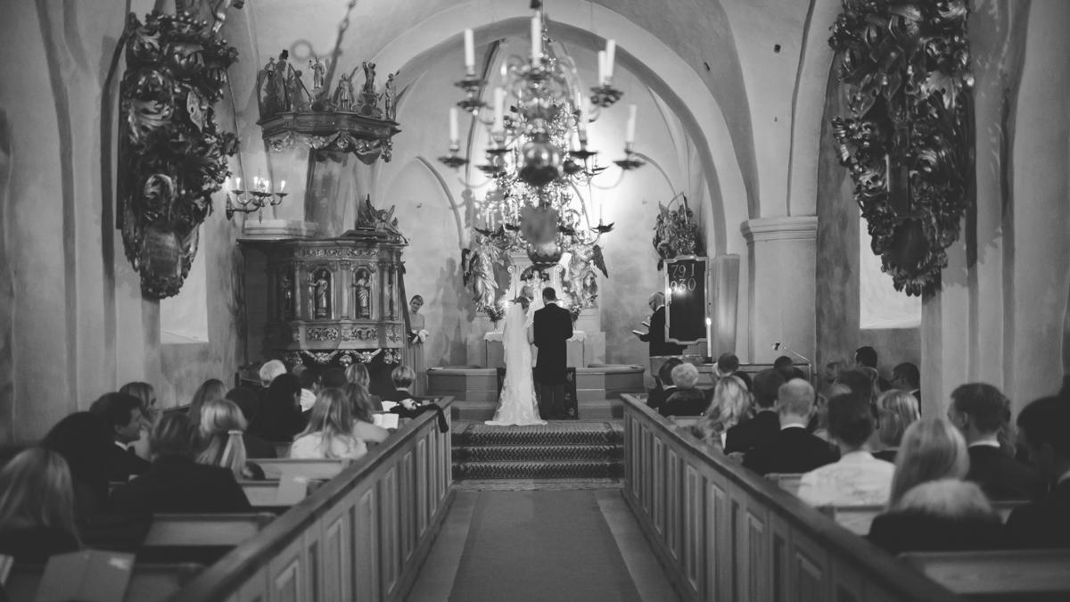 Bröllop utanför Stockholm