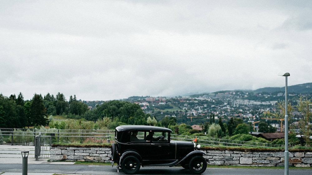 Wedding ride Trondheim