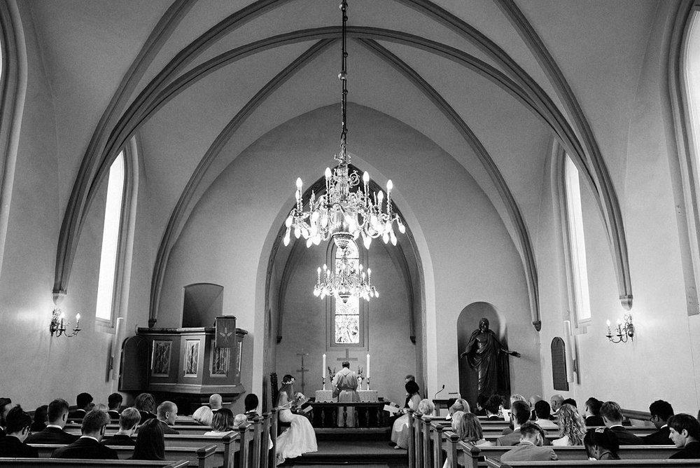 Trondheim wedding ceremony