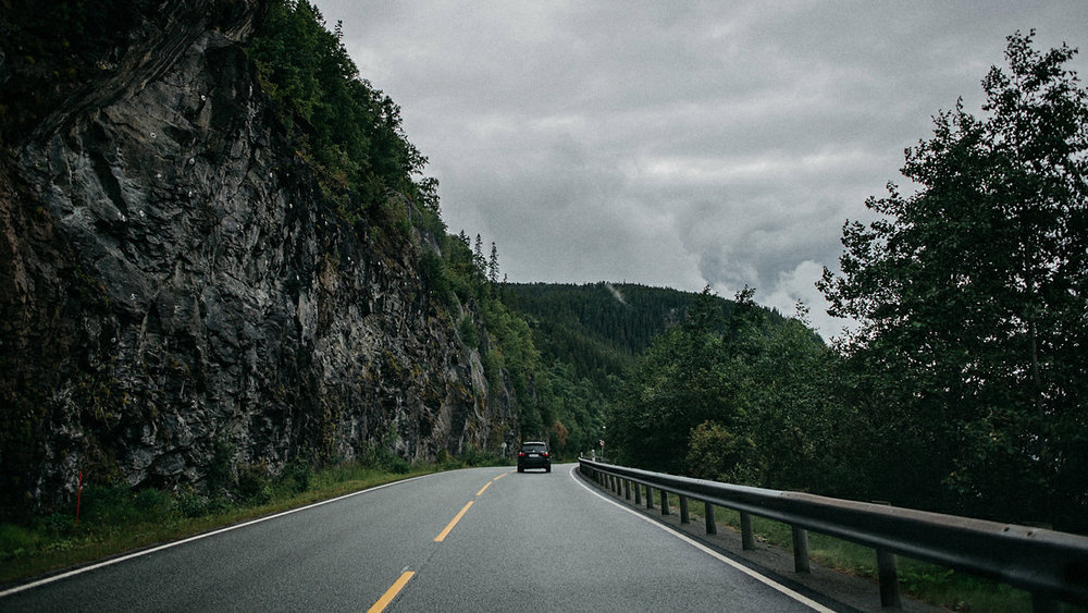 Trondheim road