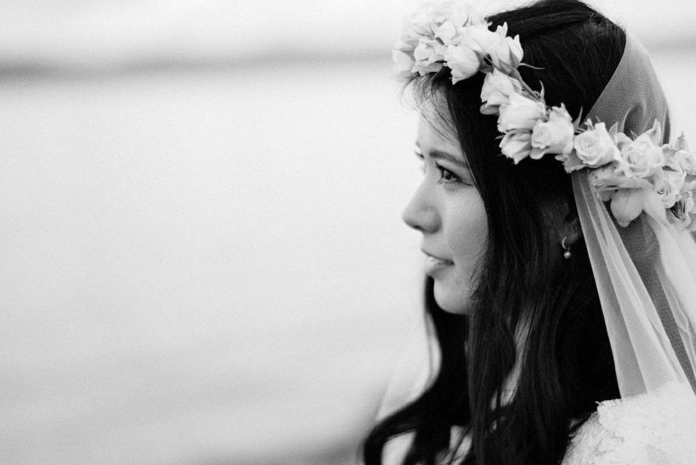 Bride portrait Norway