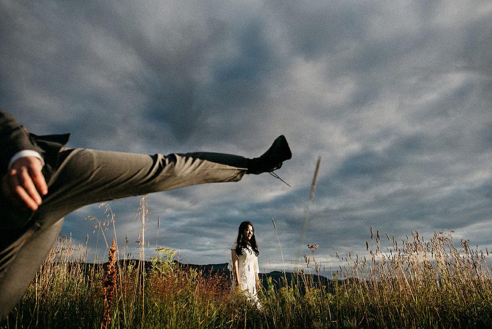 Alternative wedding photography Norway