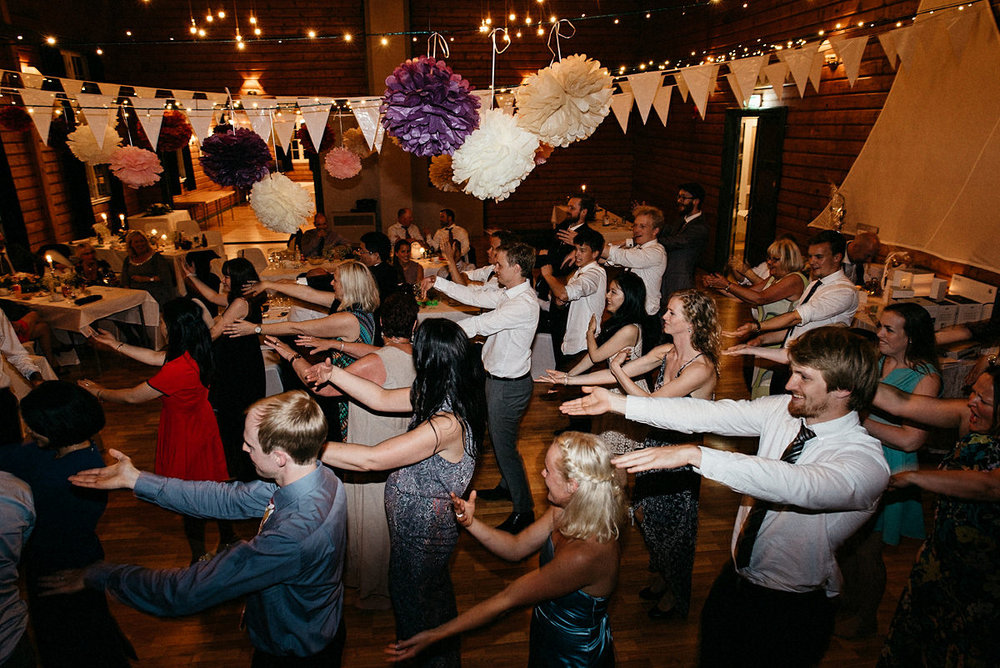 Entire wedding dances