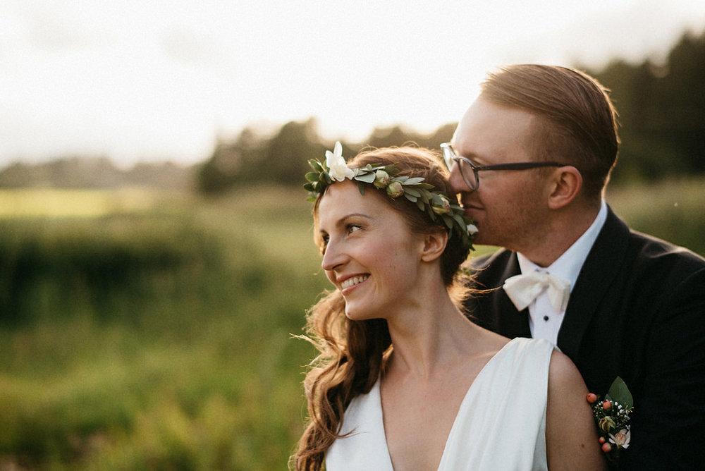 Boho wedding Finland