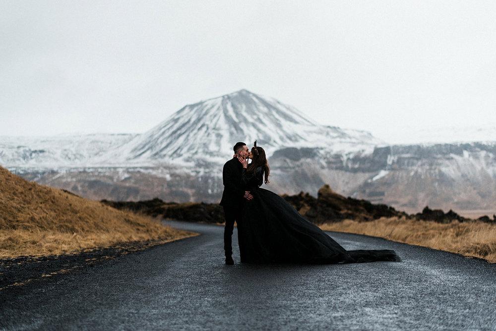 Snæfellsnes wedding photography