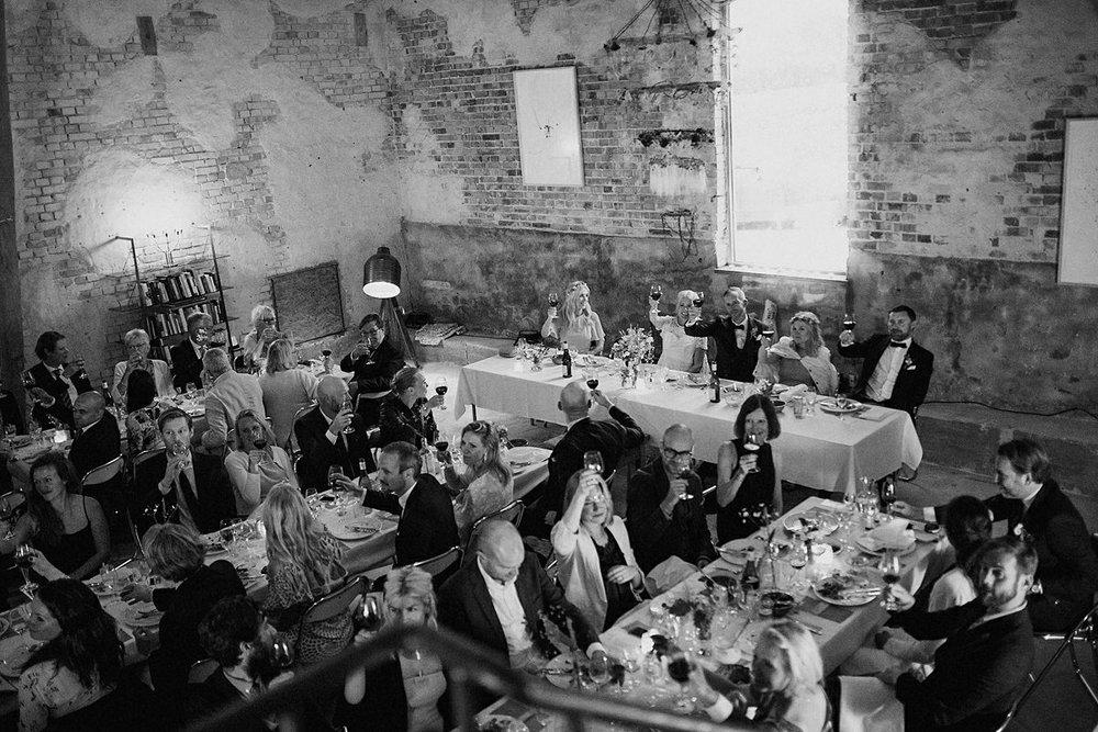 Marten Pers Kalla wedding dinner